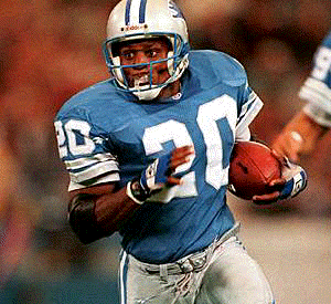Barry Sanders é membro do Hall da Fama