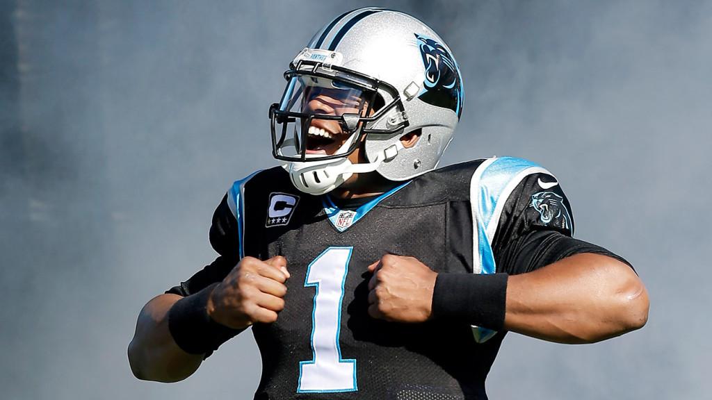Cam Newton é jogador dos Patriots