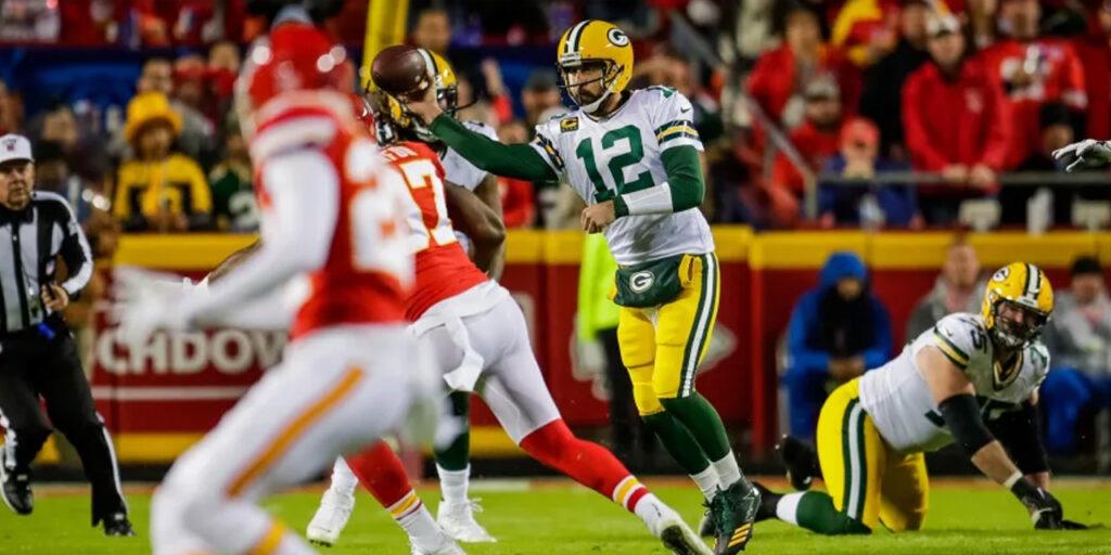 Packers vencem os Chiefs  no Arrowhead com outra grande atuação de Rodgers