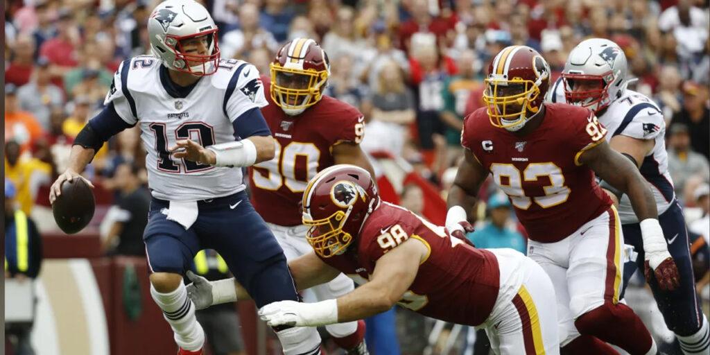 Patriots passeiam contra os Redskins e vencem quinta consecutiva em 2019