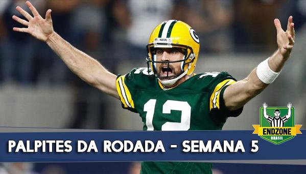 palpites semana 5 NFL 2019