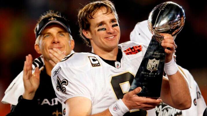 Lendas da NFL: a biografia do quarterback Drew Brees