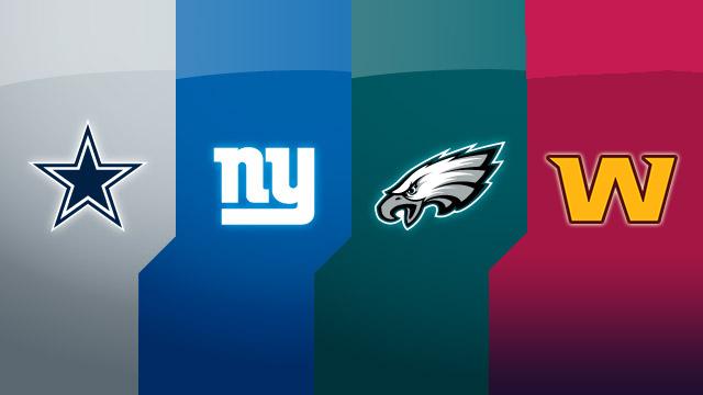 NFC East no Draft 2021