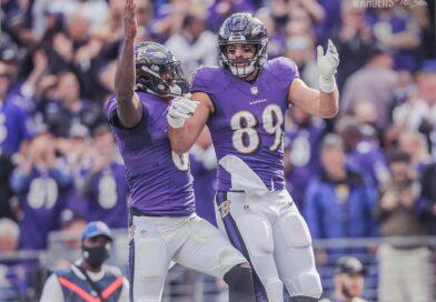 Em casa, Ravens superam Chargers 'de goleada'